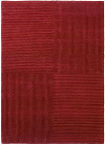 现代风格地毯 / 条纹 / 羊毛 / 矩形