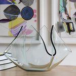 现代风格花瓶 / 毛玻璃