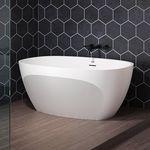 放置式浴缸 / 椭圆 / Solid Surface