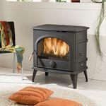 木材采暖炉 / 现代风格 / 铸铁 / 玻璃