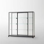 现代风格玻璃柜 / 玻璃 / 铝制 / 发光