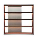 现代风格书架 / 木质 / 铝制