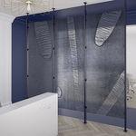 树脂装饰面板 / 用于隔墙 / 墙壁 / 高强度