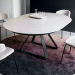 现代风格桌 / 金属 / 陶瓷 / 圆形