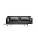 组合沙发 / 现代风格 / 布料 / 皮质
