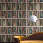 现代风格墙纸 / 图书馆 / 无纺布 / 印花