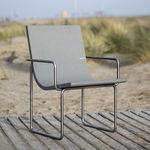 包豪斯风格椅子 / 带扶手 / 人体工学 / 可回收