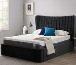King size床 / 传统风格 / 布艺 / 带床头板