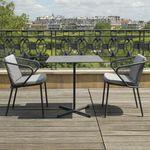 现代风格椅子 / 带扶手 / 椅垫可拆除 / 不锈钢