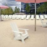 现代风格扶手椅 / 聚乙烯 / 带扶手 / 可回收