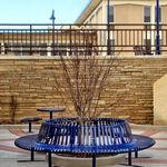 钢护树架 / 带公共长椅