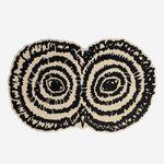 现代风格地毯 / 簇绒 / 羊毛 / 圆形