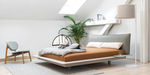 双人床 / 现代风格 / 带软包床头板 / 布料