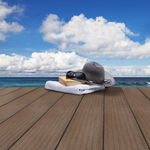 WPC露台地板条 / 仿木 / 耐用 / 公共空间