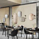 壁挂镜子 / 经典风格 / 矩形 / 粉末涂层钢