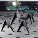 现代风格凳子 / 钢 / 铸铁 / 商用