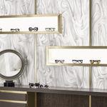 Corian®可丽耐复合板 / 室内装潢 / 白色 / 半透明