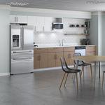 木质商用厨房 / 带手柄 / 办公室