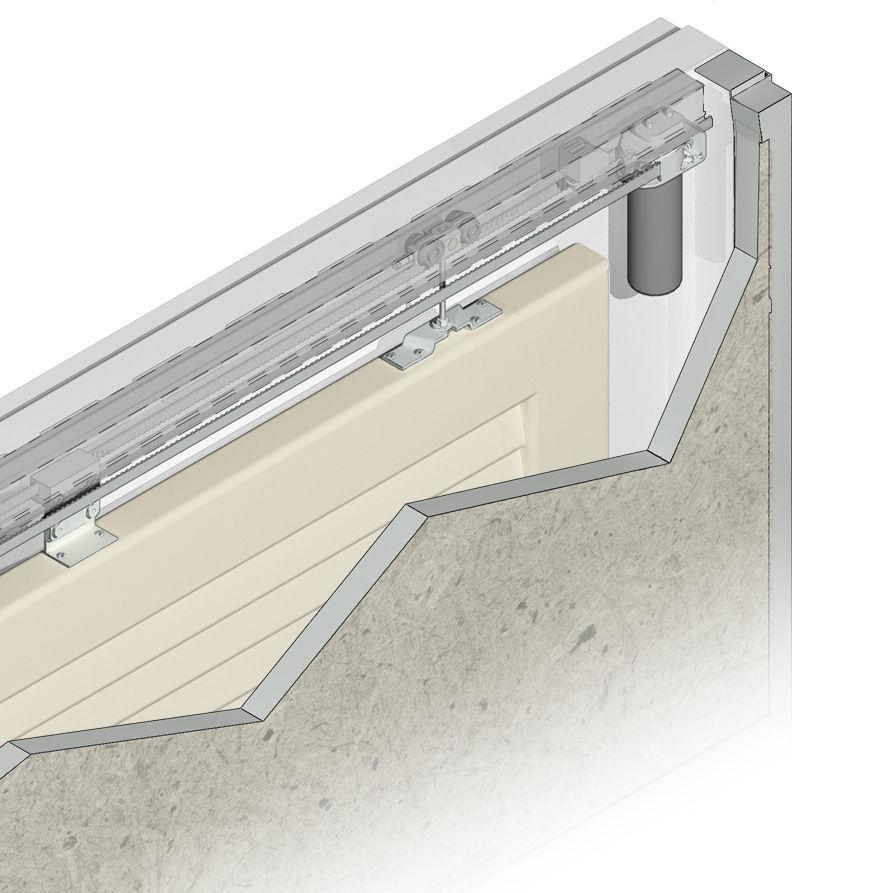 车库门最小尺寸_滑动百叶窗自动控制器 - SL120i - ChiaroScuro Sas - 用于车库门 / 工业 ...