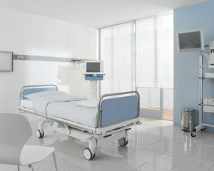 医疗床 / 现代风格 / 倾斜 / 铝制
