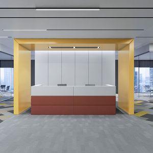 组合式前台接待桌 / 布料