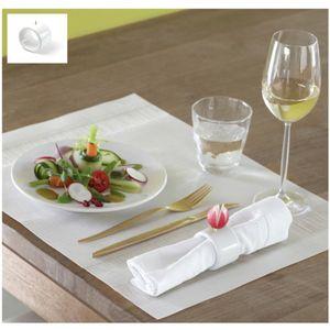 瓷质餐巾架