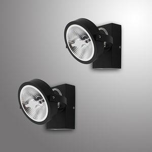 墙壁射灯 / 客厅 / LED式 / 圆形