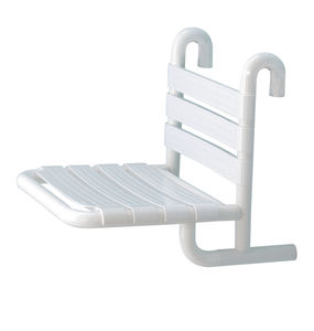 固定式淋浴座椅 / 悬挂式 / 铝制 / 商用