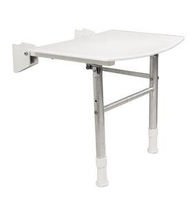 可折叠的淋浴座椅 / 壁挂 / 聚丙烯 / 商用