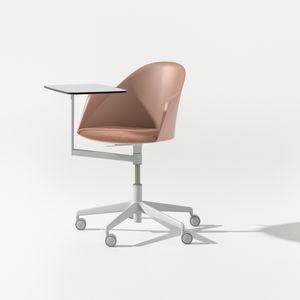 现代风格椅子 / 带扶手 / 滑轮 / 平板电脑