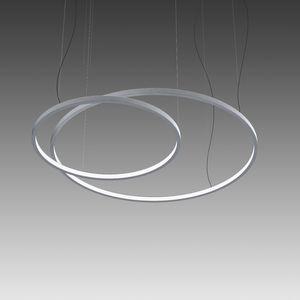 悬挂式灯具 / LED式 / 圆形 / 聚碳酸酯
