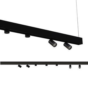 LED式轨道灯 / 圆形 / 钢 / 带漆铝