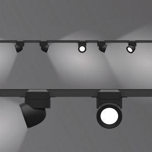 LED式轨道灯 / 圆形 / 甲基丙烯酸酯 / 铝制