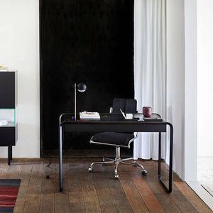 栎木办公桌 / 木制贴皮 / 胡桃木 / 现代风格