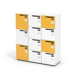 金属更衣室储物柜 / 密码 / 公共机构用 / 办公室