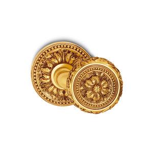传统风格球形门把手 / 黄铜