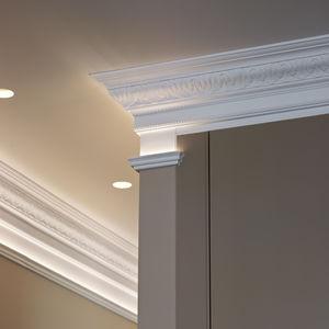 天花板顶角线 / 聚氨酯 / 预制 / 室外