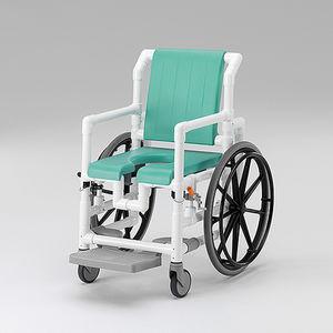 带滑轮医疗椅 / 带脚托
