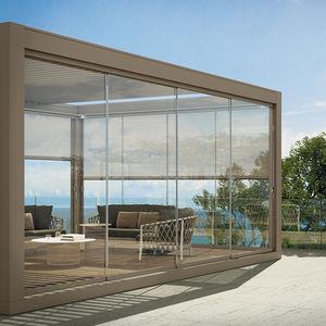 阳台滑动玻璃门