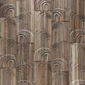 柚木墙面材料