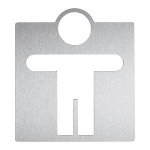 不锈钢门上标识 / 粘贴式 / 卫生机构用