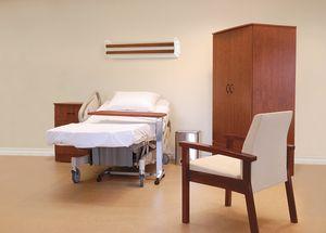 医疗床 / 现代风格 / 倾斜 / 层压板