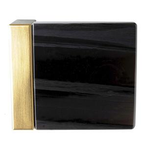 现代风格球形门把手 / 青铜 / 天然石材