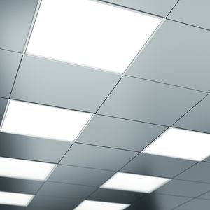 嵌入式天花板灯 / LED式 / 方形 / 用于无菌室