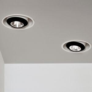 天花板暗装筒灯 / LED式 / 椭圆形 / 金属