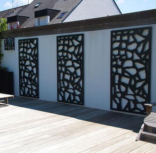 绿植墙格架 / 热喷漆铝制