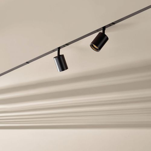 LED式轨道灯 / 圆形 / 金属 / 商用