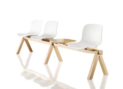布料联排座椅 / 胶合板材料 / 山毛榉木 / 聚丙烯