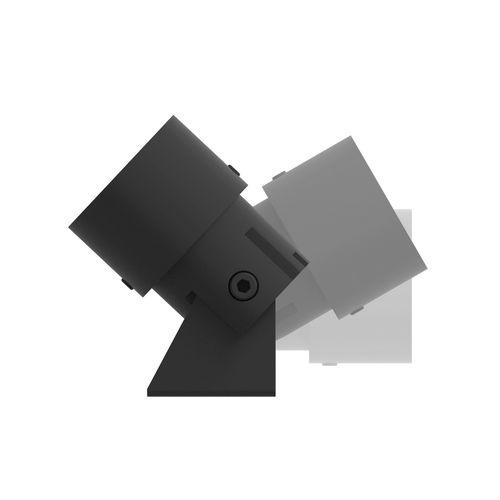 墙壁射灯 / LED式 / 圆形 / 阳极氧化铝