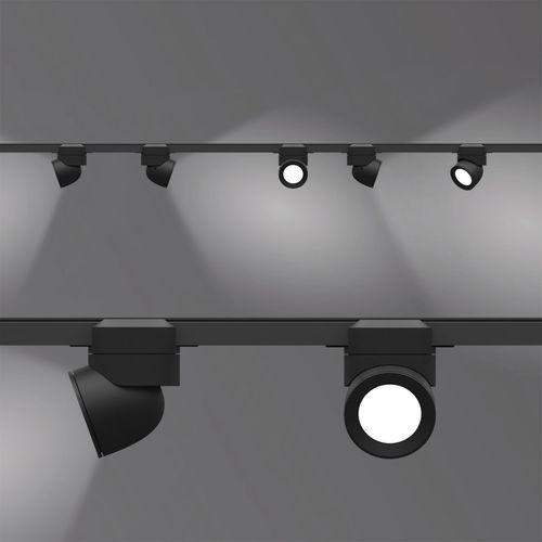 LED式轨道灯 / 圆形 / 铝制 / 商用